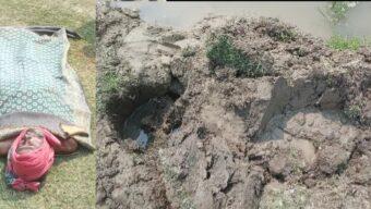 <strong>গফরগাঁওয়ে পল্লী বিদ্যুতের খুঁটির নিচে চাপা পড়ে বৃদ্ধের মৃত্যু</strong>