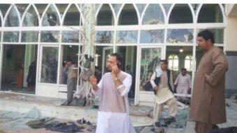 আফগানিস্তানে মসজিদে বোমা বিস্ফোরণ: বহু হতাহতের আশঙ্কা